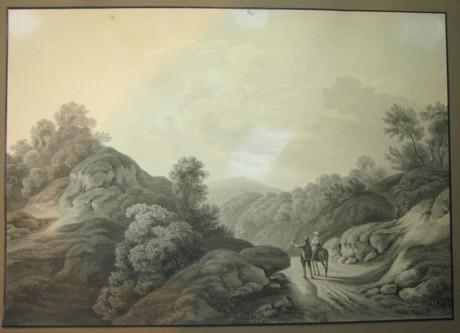 Krajina Lavirovana Kresba Tusi